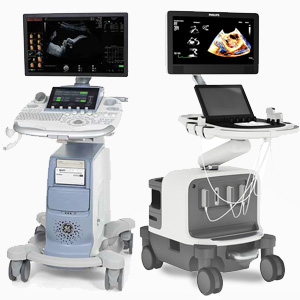 console or cart based ultrasound